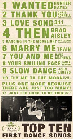 wedding songs.