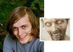 "Psych Major stars as a zombie on ""The Walking Dead"". #GSU #thewalkingdead #georgiastateuniversity"