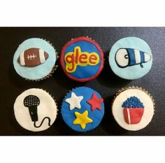 #deliquequis #cupcakes #fondant #rico #postre #cake #deliquequis #glee