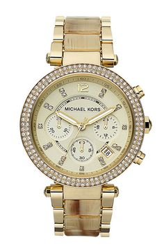 78bb49a09a1 Michael Kors  Parker  Chronograph Watch available at Nordstrom.....seriously