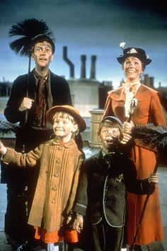 Mary Poppins movie - My dad took my brother and me to the theater to see this one, and I've loved it ever since.