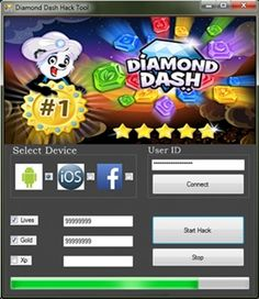 Download Diamond Dash Hack at http://gamesfixer.com/diamond-dash-hack/