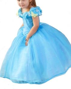 yigoo baby robe princesse cendrillon dguisement enfant robe de soire partie halloween carnaval costume anime cosplay