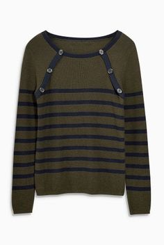 Buy Button Sweater online today at Next: Israel