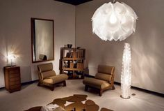 The Flora M Suspension Lamp was designed by Zanini De Zanine for Italian lighting company Slamp.Slamp was founded by Roberto Ziliani in as a way to develo Lamp Design, Lighting Design, Lighting Ideas, Italian Lighting, Suspension Design, Diffused Light, Light Art, Best Interior, Illuminati