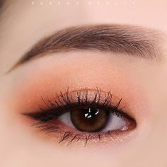 Korean Makeup Look, Asian Eye Makeup, Makeup Eye Looks, Cute Makeup, Pretty Makeup, Perfect Makeup, Makeup Trends, Makeup Inspo, Makeup Art