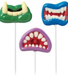Wilton Lollipop Mold - Monster Mouth: candy making: baking: Shop   Joann.com
