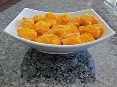 Mango Burfi Recipe - refreshing and fun for the summer heat. An Indian dessert