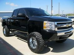 2010 Chevy Silverado 1500 LT Z71 7 Inch Rough Country Lifted Truck