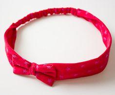 DIY-Anleitung: Haarband mit Schleife in 5 Größen (Baby bis Erwachsene)