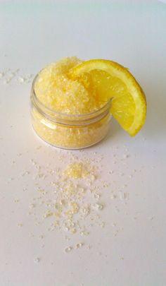 #Fresh Lemon #Vegan Bath Salts