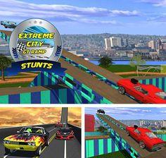 Baixar Extreme city GT ramp stunts - jogo para Android gratis alem do jogo apk Simulador de taxi 2016.