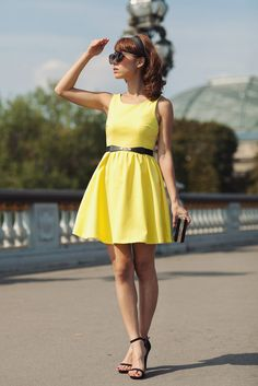Every girl should have that little yellow dress. ;)