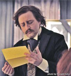 """Ghost of Poe""; Actor: Mark Sanders as Edgar Allen Poe; Photo: Ronald Cohn; #Makeup & #Hair: Carol Stover; Wardrobe: Margaret Garland"