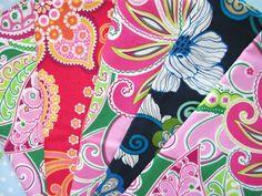 Set of 5 Vera Bradley Cloth Napkins