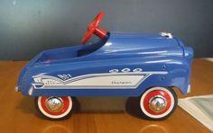 Hallmark Kiddie Car Classics 1958 Murray Champion pedal car in blue NIB