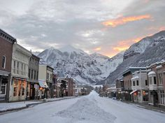 Telluride, Colorado, ranked the best ski resort area by our readers.