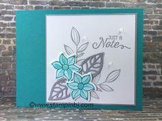 Falling flowers, May flowers framelits, Stampin' Up!, BJ Peters, #fallingflowers, #mayflowersframelits, #stampinup, #stampinbj.com, #bjpeters