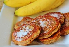 Mash a whole bunch and make sweet, crispy banana fritters. | 17 Delicious Ways To Use Up Old Bananas