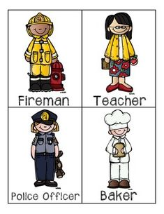 COMMUNITY HELPERS PRESCHOOL PACKET - TeachersPayTeachers.com