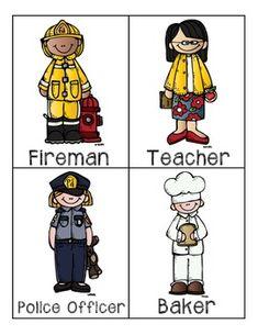 COMMUNITY HELPERS PRESCHOOL PACKET - TeachersPayTeachers.com