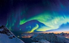 Pin 8 Something From My Bucket List See the Northern Lights, Northern Norway #bareMinerals #READYtowin