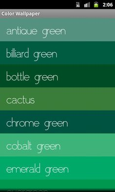 1000 images about pantone on pinterest trend council for Gama de colores verdes