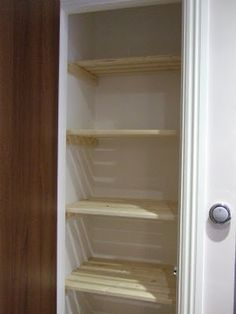 Airing cupboard shelving u2026 & Airing cupboard shelves | Pinterest | Airing cupboard Cupboard ...