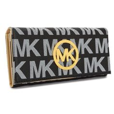 Michael Kors bags and Michael Kors handbags Michael Kors Flat Continental Large Black Wallets 02 Michael Kors Bags Outlet, Michael Kors Flats, Cheap Michael Kors, Handbags Michael Kors, Mk Wallet, Wallet Sale, Mk Handbags, Handbags On Sale, Chanel Online