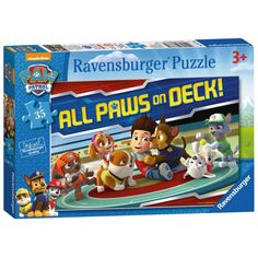 All Paws On Deck 35pc Paw Patrol Jigsaw Puzzle  £3.99