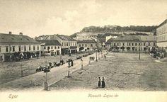 Eger  Dobó tér (Kossuth Lajos tér) 1900-as évek eleje