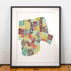 New Orleans map art, New Orleans art print, New Orleans typography map, map of New Orleans, New Orleans neighborhood map downtown by joebmapart on Etsy https://www.etsy.com/ca/listing/122448201/new-orleans-map-art-new-orleans-art