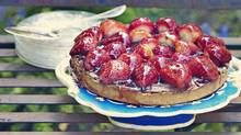 Chocolate strawberry tart by Lucy Waverman. (Danielle Matar for The Globe and Mail)