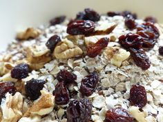 Ingrediënten healthy mueslireep