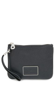 MARC BY MARC JACOBS 'Ligero' Wristlet. #marcbymarcjacobs #bags #leather #pouch #accessory