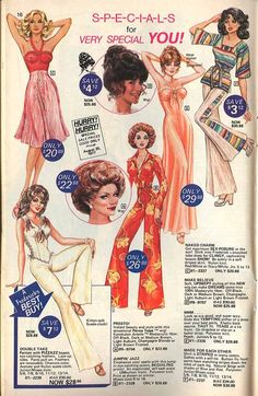 Frederick's of Hollywood lingerie catalogue, 1977.