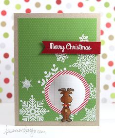 Kristina Werner's Holiday Card Series 2014 - Day 2 card (outside)
