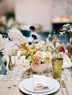 Earth tone, romantic Palm Springs wedding by Amorology at La Quinta Resort & Spa