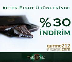 Çikolatayı çok sevdiğinizi biliyoruz, sizin için After Eight 300 gr. Çikolata çeşitlerini %30 indirim ile 13.65 TL'ye indirdik! Acele edin her an tükenebilir! http://bit.ly/1guyj8e