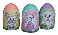 Definitely a very cute and easy decorations for Easter