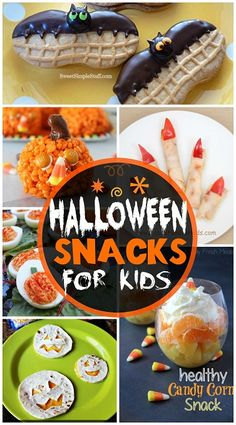 Halloween Snacks for Kids - Great ideas that are easy to make! | CraftyMorning.com