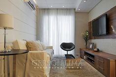 Sala empreendimento Ideale Residencial / Ideale Residencial Living Room