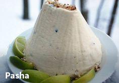 Pasha. Resepti: Arla #kauppahalli24 #pääsiäinen #ruoka #resepti #pasha Pear, Fruit, Food, The Fruit, Meals, Pears, Yemek, Eten