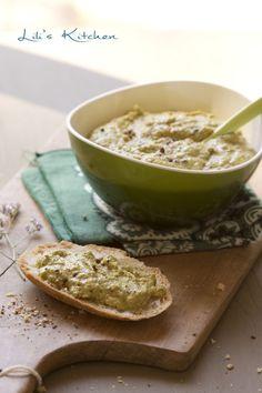 Crème de poivrons verts au pesto de basilic et au tofu #vegan #vegetalien