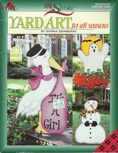 one stroke - Yardart For All Seasons - Geraldinapintura - Álbuns da web do Picasa... Free book!!