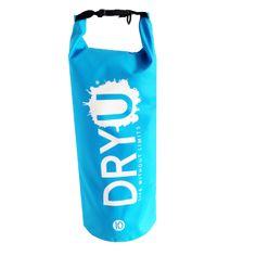 10 Litre blue waterproof dry bag
