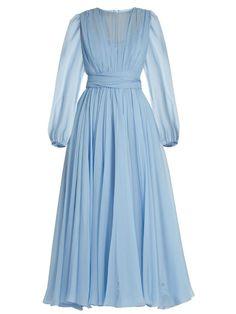 Blue Ball Gowns, Blue Evening Dresses, Blue Dresses, Casual Dresses, Long Dresses, Dress Long, Blue Gown, Fall Dresses, Formal Dresses