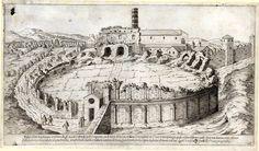 Amphitheatrum castrense near the Church of Santa Croce in Gerusalemme. 3rd…