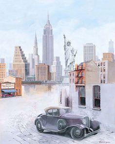 Tristan-Lopez-New-York-Memory-III-Fertig-Bild-40x50