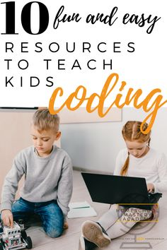 Coding For Kids - 10 Cool Resources to teach your kids to code. #codingforkids #kidswhocode #coding #codinggames #codingapps #codingresources #homeschool